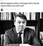 What happens when marriage saudi not work out by Emmanuel Ruchat